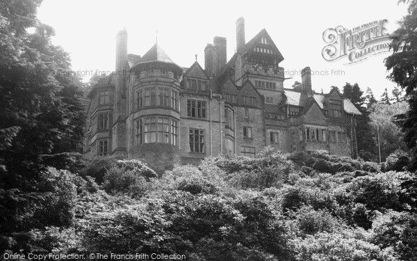 Photo of Rothbury, Cragside Hall c.1955