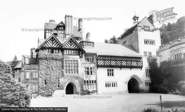 Photo of Rothbury, Cragside Hall c.1960