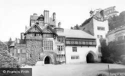 Rothbury, Cragside Hall c.1960