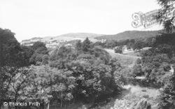 Rothbury, Cragside Park c.1955