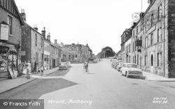 Rothbury, Front Street c.1960