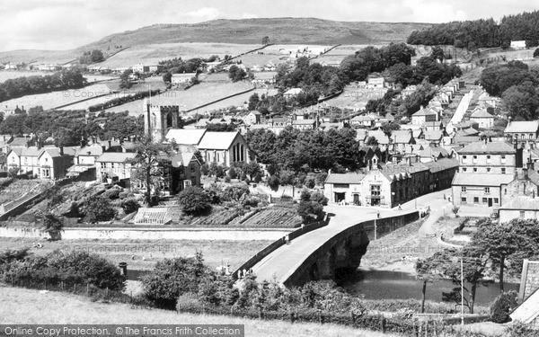 Photo of Rothbury, General View c.1960