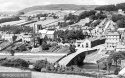 Rothbury, General View c.1960