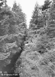 Rothbury, River Cragside c.1960
