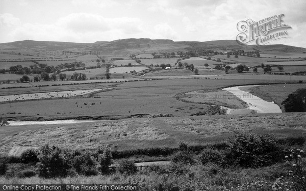 Photo of Rothbury, Simonside And Great Tossen c.1960