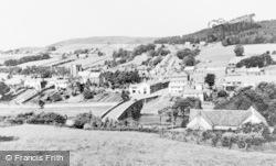 Rothbury, The Bridge And Church c.1960