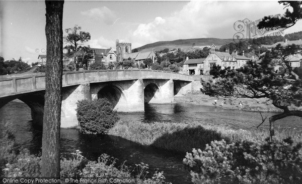 Photo of Rothbury, The Bridge c.1955