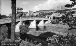 Rothbury, The Bridge c.1955