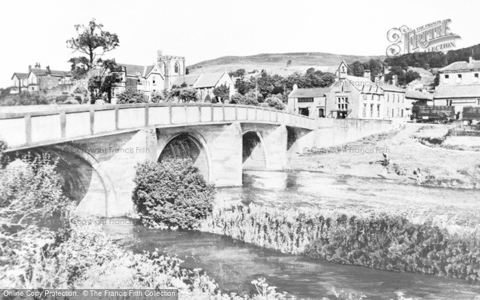 Photo of Rothbury, The Bridge c.1955