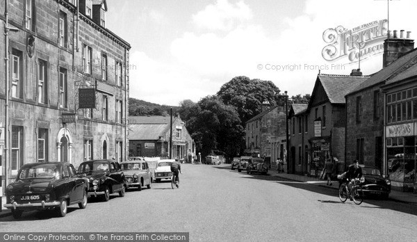Rothbury, The Queen's Head c.1960