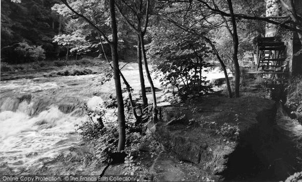 Photo of Rothbury, Thrum Mill c1960, ref. R360033