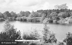Rothbury, Top Lake c.1955