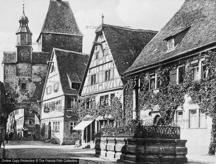 Photo of Rothenburg, c.1930