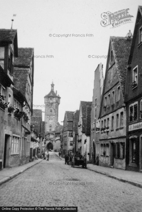 Photo of Rothenburg, c.1938