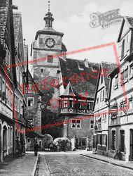 Gallows Gate c.1930, Rothenburg