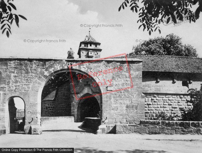 Photo of Rothenburg, Gateway c.1930