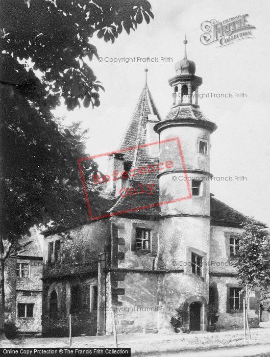 Photo of Rothenburg, House c.1930