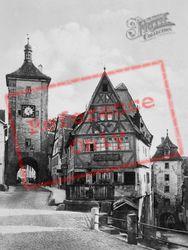Plonlien Street c.1930, Rothenburg