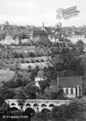 The Double Bridge c.1930, Rothenburg