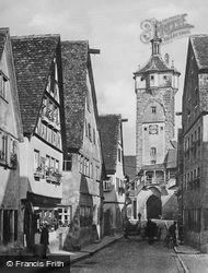 Tower c.1930, Rothenburg