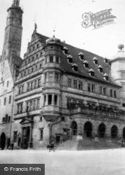 Town Hall c.1938, Rothenburg