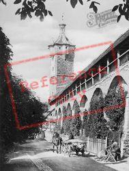 Town Walls c.1930, Rothenburg