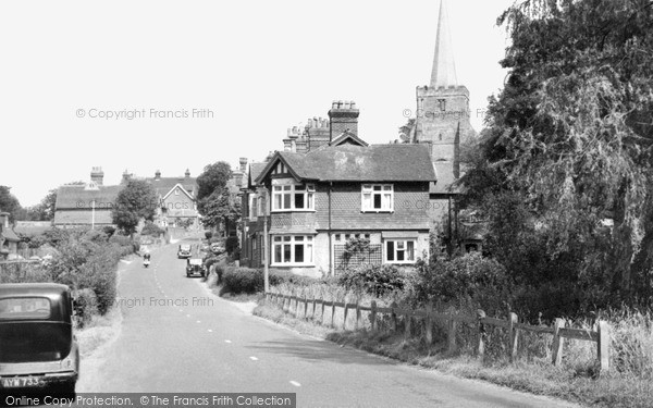 Rotherfield, Church Road c1960