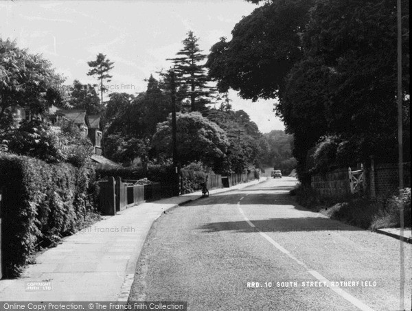 Rotherfield, South Street c1960