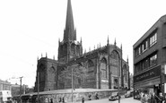 Rotherham, All Saints' Church c.1955