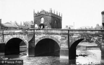 Rotherham, the Bridge Chapel 1895