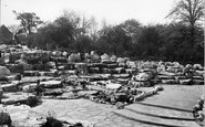 Rotherham, The Rock Gardens, Clifton Park c.1955