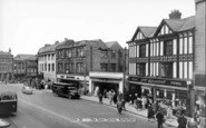 Rotherham, The Town Centre c.1960