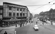 Rotherham, Town Centre 1961