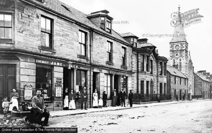 Photo of Rothes, High Street 1901