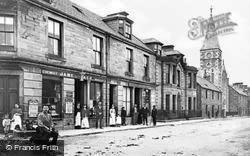Rothes, High Street 1901