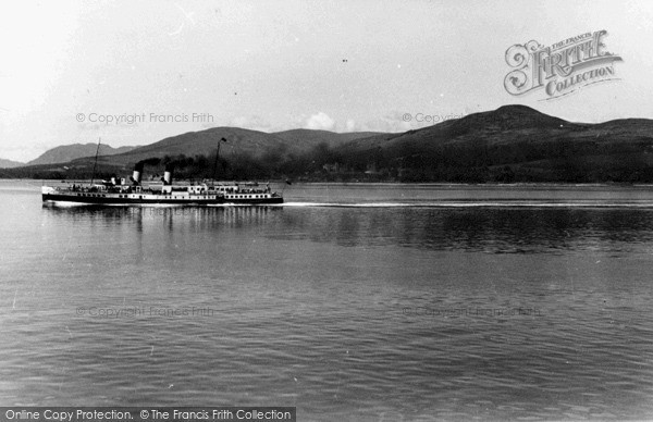 Photo of Rothesay, A Steamer On The Clyde c.1955
