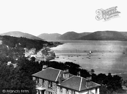 Rothesay, Ardbeg Point And Cowal Hill 1897