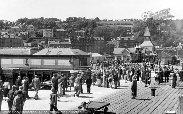 Photo of Rothesay, Arrival Of Visitors c.1955