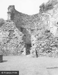 Rothesay, Castle 1960
