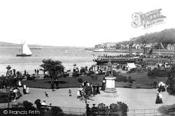 Rothesay, Esplanade 1897