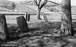 Rothesay, Etterick Stone Circle 1960