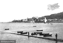 Rothesay, From Chapel Hill 1897