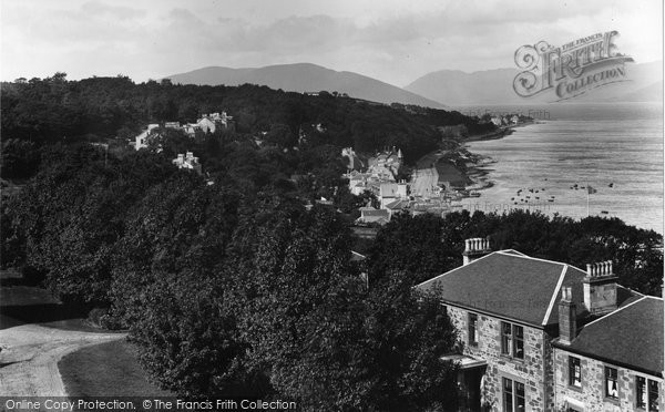 Photo of Rothesay, From Chapel Hill 1900
