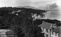 Rothesay, From Chapel Hill 1900