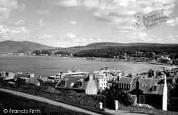 Rothesay, From Serpentine c.1970