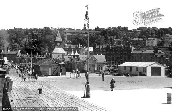 Photo of Rothesay, From The Pier c.1955