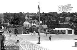 Rothesay, From The Pier c.1955