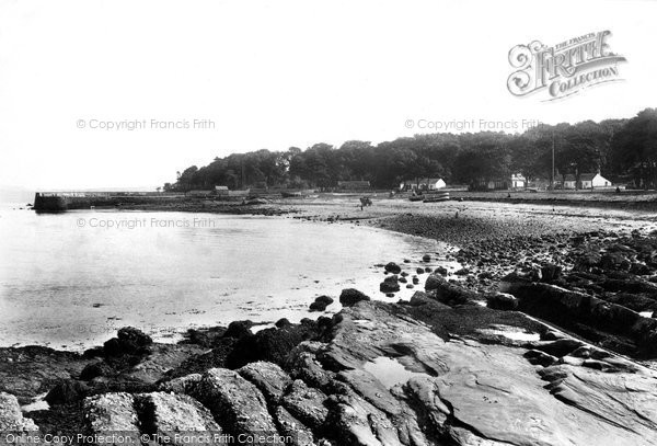 Photo of Rothesay, Kerrycroy Village And Beach 1904