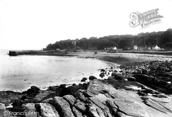 Rothesay, Kerrycroy Village And Beach 1904