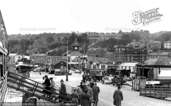 Photo of Rothesay, On The Pier c.1955